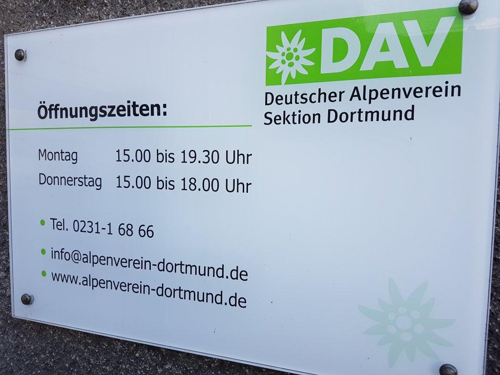 Kletterausrüstung Dortmund : Deutscher alpenverein u2013 sektion dortmund e.v.