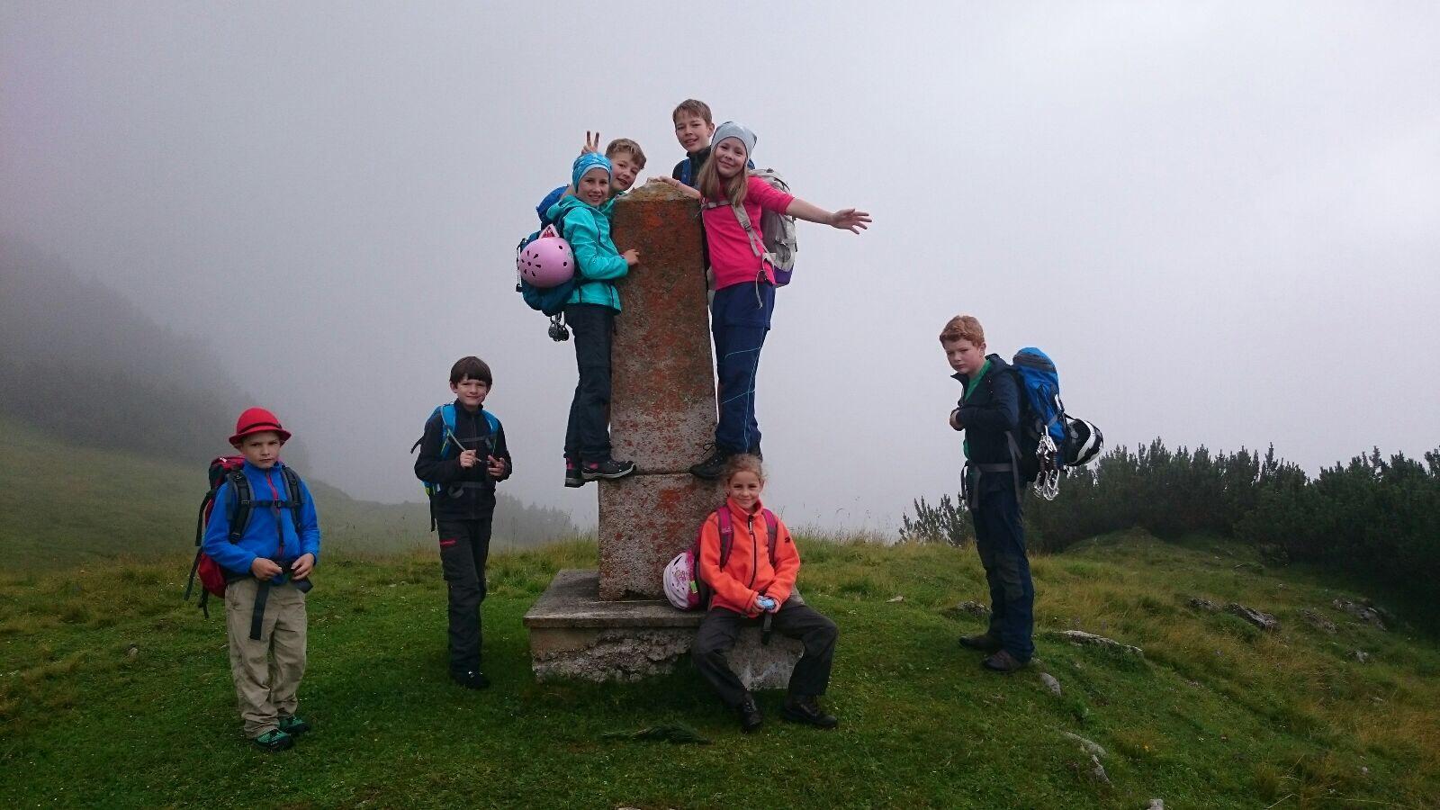 Familiengruppe: Wanderung