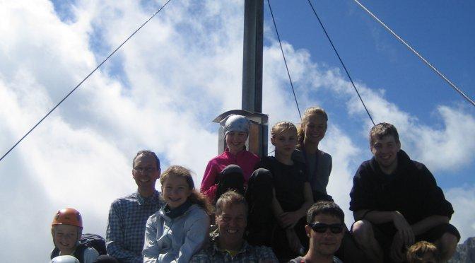 Jugendgruppen-Sommerfreizeit im Kaisergebirge