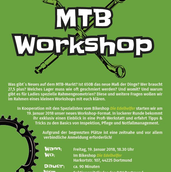 MTB Workshop
