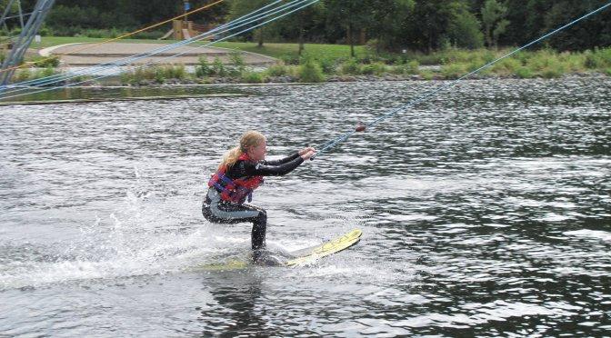 jdav: Wochenende im September in Bruchhausen mit Wassserskifahren und Klettern