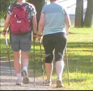 Nordic Walking für Anfänger, Wiedereinsteiger und Könner @ KGV Gildenpark (Wittekind-/Lindemannstr. nahe Araltankstelle)