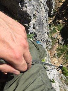 Elementare Seiltechniken für Wanderer u. Klettersteiggeher