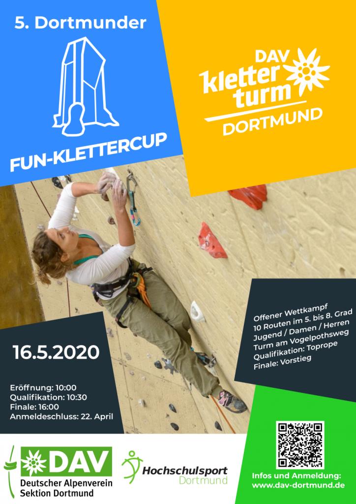 Plakat Klettercup 2020